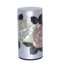 彫刻缶 薔薇 200g