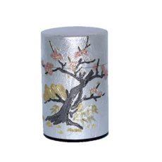 彫刻缶 梅の木 100g