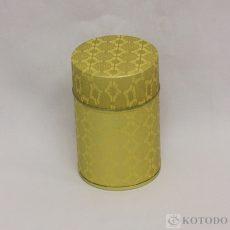 印刷缶 100g ゴールドリンクル