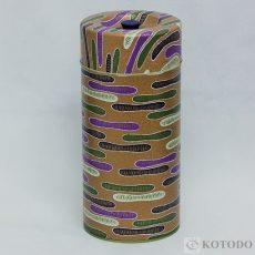 印刷缶 1.0㎏ 雲(茶)