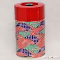 印刷缶 2.0kg しぼり(赤)