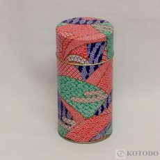 印刷缶 300g しぼり(赤)