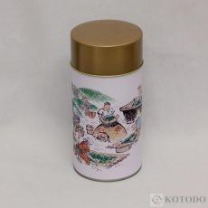 印刷缶 500g 茶造