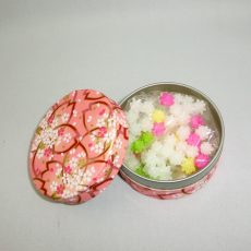 和紙和染缶(金平糖入り)
