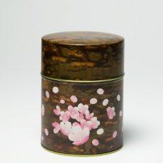 印刷缶 平型375g  桜