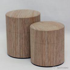 木のNuku森缶ウォールナット平型